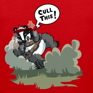 Badger Cull Fightback T-Shirts - Men's Premium Tank Top