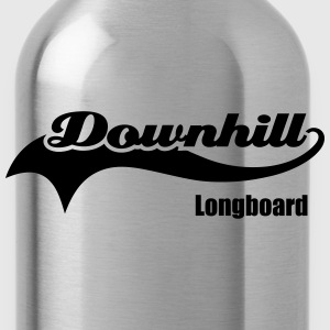 Downhilll Longboard T-Shirts - Water Bottle
