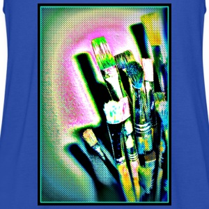 pinsel_1 T-Shirts - Frauen Tank Top von Bella