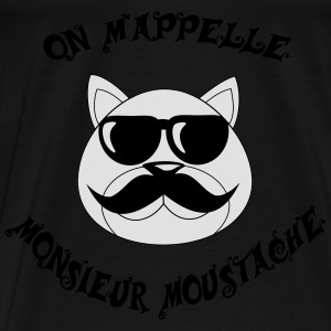 Monsieur moustache Hoodies - Men's Premium T-Shirt