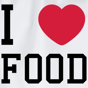 i heart food T-Shirts - Drawstring Bag