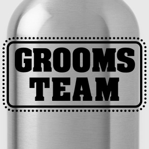 Grooms team (1c) T-Shirts - Water Bottle