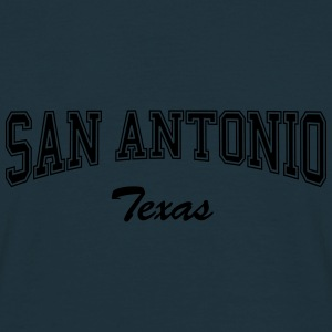 San Antonio Texas Caps & Hats - Men's T-Shirt