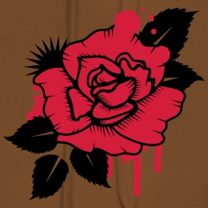A Graffiti Rose Shirts - Women's Premium Hoodie