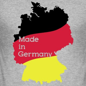 Made in Germany Pullover & Hoodies - Männer Slim Fit T-Shirt