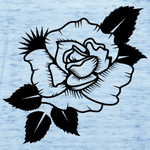 A Drawn Rose Hoodies - Women's Tank Top by Bella