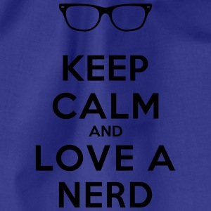 KEEP CALM AND LOVE A NERD Pullover & Hoodies - Turnbeutel