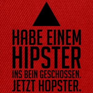 hipster - hopster T-Shirts - Snapback Cap