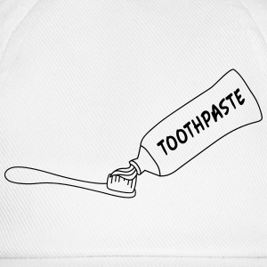 Toothpaste And Toothbrush Camisetas - Gorra béisbol