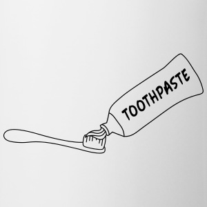 Toothpaste And Toothbrush T-shirts - Mok