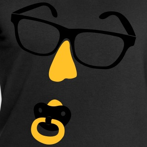Glasses with nose and pacifiers  T-Shirts - Men's Sweatshirt by Stanley & Stella