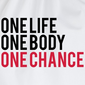 One Life One Chance One Body T-skjorter - Gymbag