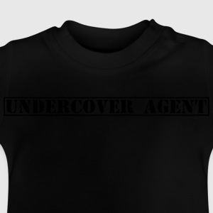 Undercover Agent / Undercover efterforskere / poli T-shirts - Baby T-shirt