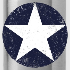 us air force star vintage T-Shirts - Water Bottle