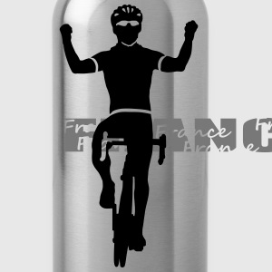 Radsport France T-Shirts - Trinkflasche