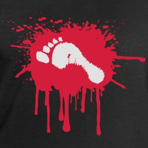 Bloody Foot T-Shirts - Men's Sweatshirt by Stanley & Stella