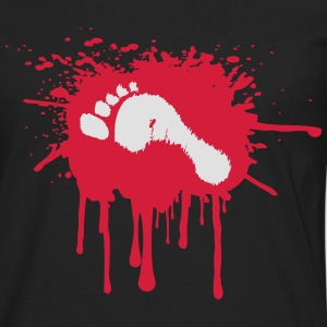 Bloody Foot T-Shirts - Men's Premium Longsleeve Shirt