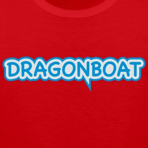 Dragonboat draak boot kano Outrigger 2 c. T-shirts - Mannen Premium tank top