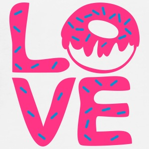 Love Donuts Mug - Men's Premium T-Shirt