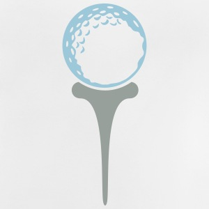 golf ball on tee (2c) T-Shirts - Baby T-Shirt