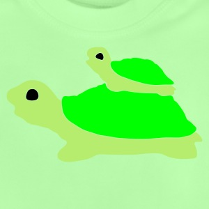 Green tortoise Kid's Tops - Baby T-Shirt