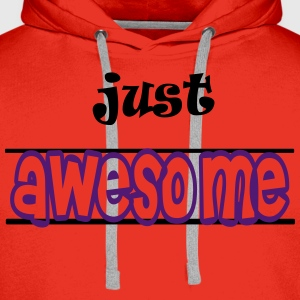 Just awesome Shirts - Mannen Premium hoodie