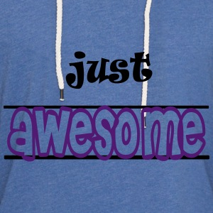 Just awesome Sweats - Sweat-shirt à capuche léger unisexe