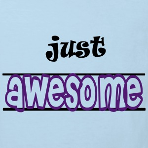 Just awesome Sudaderas - Camiseta ecológica niño