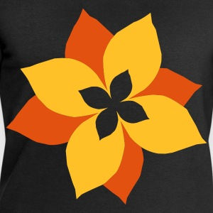 Black flower - blume - plant - pflanze - natur Kid's Shirts  - Men's Sweatshirt by Stanley & Stella