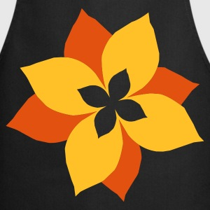 Black flower - blume - plant - pflanze - natur Kid's Shirts  - Cooking Apron