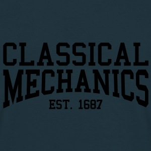 Classical Mechanics - Est. 1687 (Over-Under) Caps & Hats - Men's T-Shirt