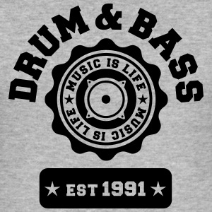 Drum and Bass Sweat-shirts - Tee shirt près du corps Homme