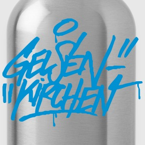 Gelsenkirchen Graffiti Ultras Fan Shirt - Trinkflasche