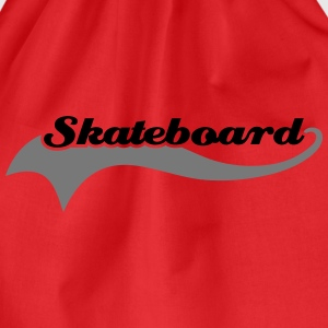 Skateboard T-Shirts - Drawstring Bag