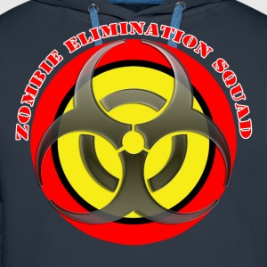 zombie elimination squad T-Shirts - Men's Premium Hoodie