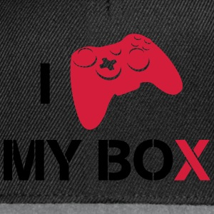 i love my x-box T-shirts - Snapback cap