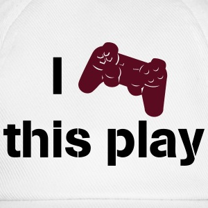 i love this play station Magliette - Cappello con visiera
