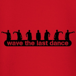 wave the last dance T-shirts - Långärmad T-shirt baby