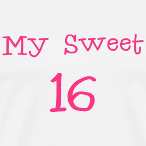 My Sweet 16 / 16. Geburtstag / Party 1c Pullover & Hoodies - Männer Premium T-Shirt