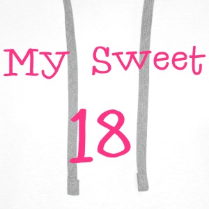 My Sweet 18/ 18 Birthday / Party 1c Shirts - Men's Premium Hoodie