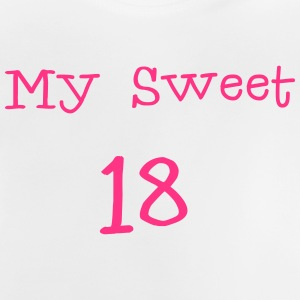 My Sweet 18 / 18.Födelsedag  / Party 1c T-shirts - Baby-T-shirt