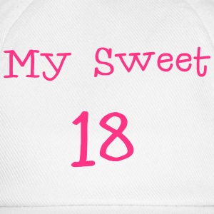 My Sweet 18/ 18 Birthday / Party 1c Shirts - Baseball Cap