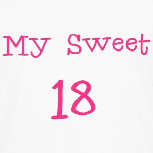 My Sweet 18/ 18 Birthday / Party 1c Shirts - Men's Premium Longsleeve Shirt