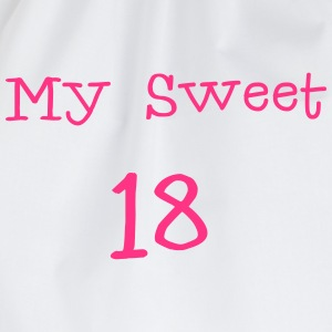 My sweet 18 \/ 18e verjaardag \/ party 1c. T-shirts - Gymtas