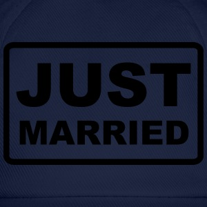Just Married - Baseballkappe