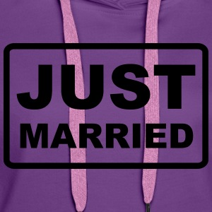 Just Married - Frauen Premium Hoodie