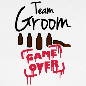 Team Groom Game Over T-skjorter - Baseballcap