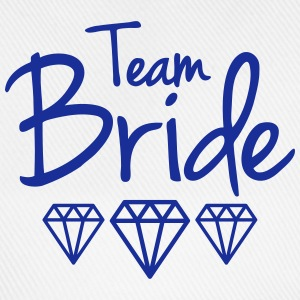 Team Bride T-shirts - Baseballkasket
