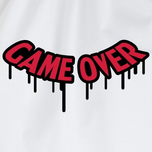 Game Over Graffiti T-skjorter - Gymbag