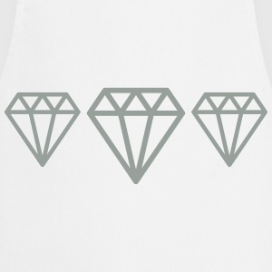 Diamonds T-Shirts - Cooking Apron